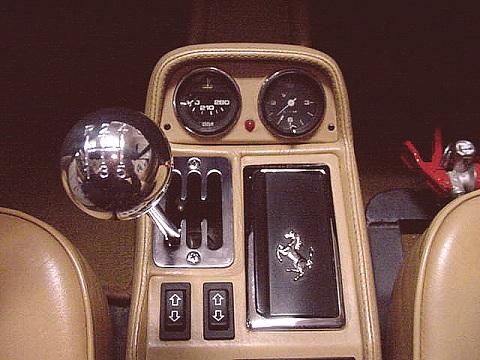 Ferrari Shift Knob With Shift Pattern