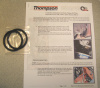 2 O-Ring replacement set for Thompson Oil Filter Relocation kit
