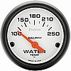 Auto Meter Phantom water temp gauge